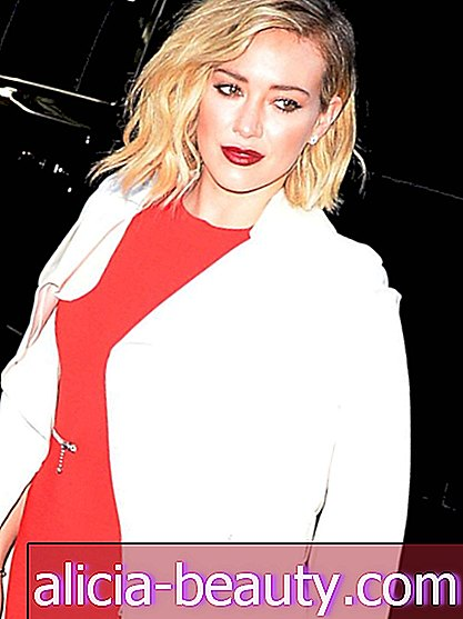 Check out Hilary Duff 's New Lilac Hair