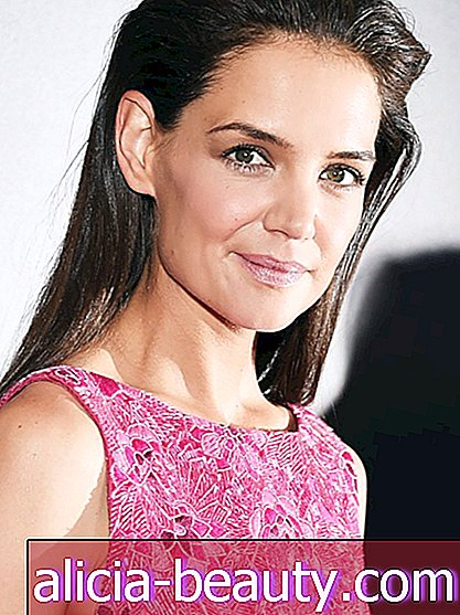 Blick des Tages: Katie Holmes 'Cool, Sweep-Back'