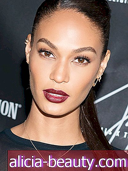 Joan Smalls 'Epic Wine Lip, Plus More Celeb Beauty!