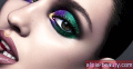 15 Hauntingly divan Halloween Eye Makeup Izgleda