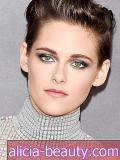 Kristen Stewarts Metallic Smoky Eye, Plus More Celeb