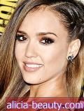 Kako nositi Cool-Girl Braid Kot Jessica Alba