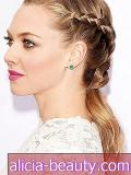 Tricket til Amanda Seyfried's Elegant Braid