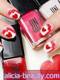 Graafinen V-Day Nail Tutorial Jin Soon