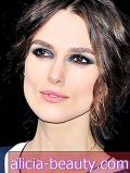 Wie man Keira Knightleys Matte Blue Makeup meistert
