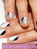 Vikend Mani Kako-To: Jamie Chung's Geometric Nails